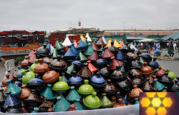Quelles épices achetez-vous au Maroc?